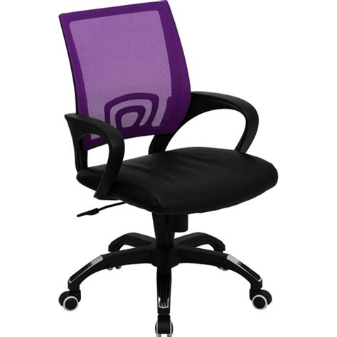 Desk Chairs Walmart by Mesh Office Chair With Leather Seat Colors