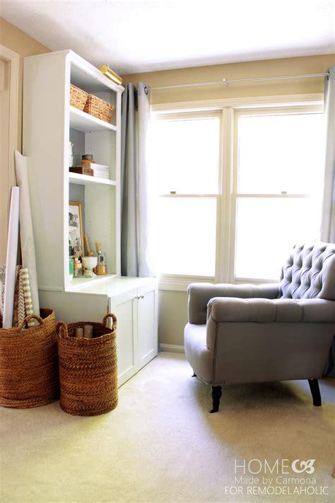 Bookshelf Hutch by Remodelaholic Diy Bookcase Hutch Hack