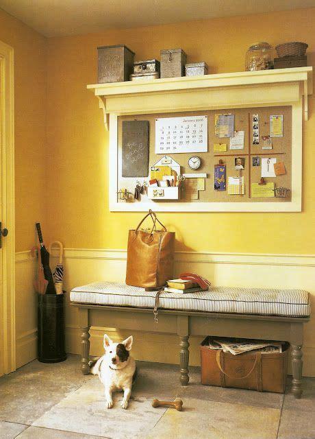 shelf idea mirror   cork board