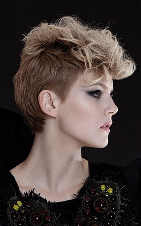 cute punk hairstyles cute glam punk short hair styles