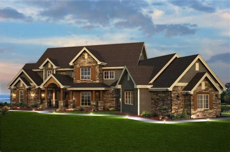 Traditional Style Home Floor Plan #161 1003   Six Bedrooms