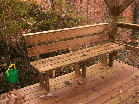 Deck Bench Ideas Design