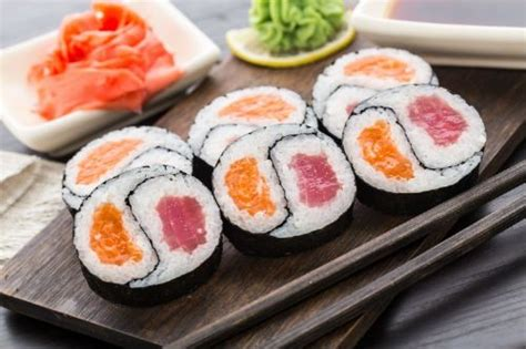 25+ Best Ideas About Types Of Sushi Rolls On Pinterest