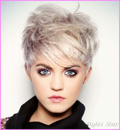 30 Blonde Short Hairstyles For Round Faces Blonde Short