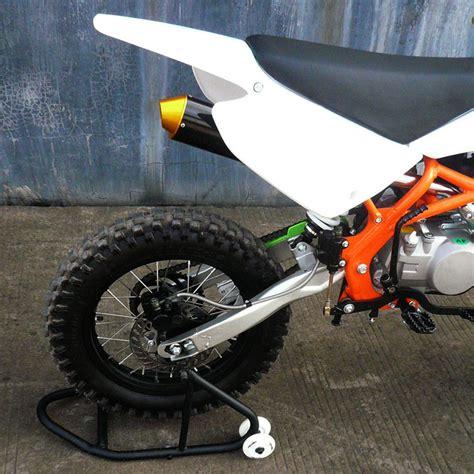 Motorcycle Dirt Pit Bike Rear Race Paddock Stand Lift Fork