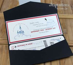 disney wedding invitations disney boarding pass wedding With disney style wedding invitations