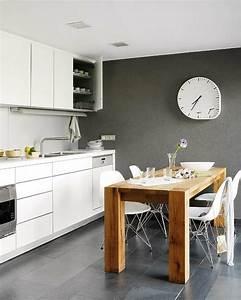 Graue Küche Welche Wandfarbe : 30 wohnideen f r wandfarbe in graut nen trendy farbgestaltung ~ Markanthonyermac.com Haus und Dekorationen