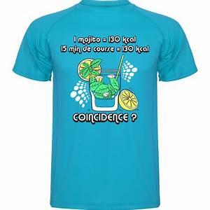 Tee Shirt Homme Humour : t shirt running mojito ~ Melissatoandfro.com Idées de Décoration