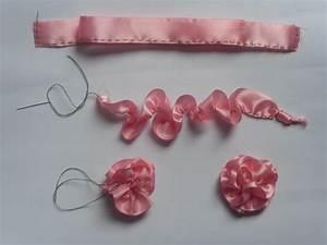 Satin ribbon flowers | 4evercrafting