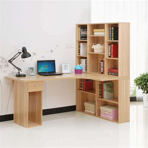 desk and bookshelf combo bookcases desk combination minimalist yvotube com