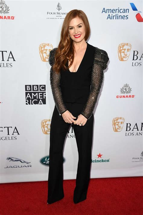 Isla Fisher attends the BAFTA Los Angeles Tea Party 2020 ...