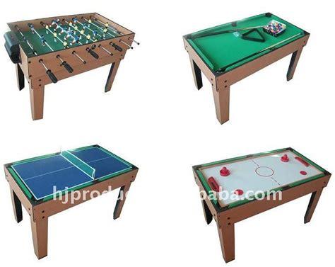 best multi game table popular 4 in 1 multi game pool soccer table buy multi