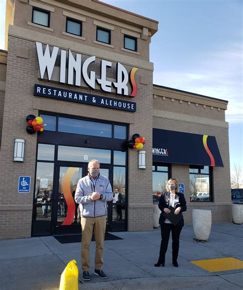 Wingers Ribbon Cutting and Grand Opening