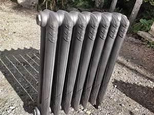 Radiateur Sur Pied : radiateur fonte quimper ~ Nature-et-papiers.com Idées de Décoration