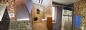 before and after remodeling gallery euro design remodel With bathroom remodeling bethesda md