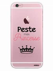 Coque Transparente Iphone 6 : coque transparente peste mais princesse pour iphone 6 6s ~ Teatrodelosmanantiales.com Idées de Décoration