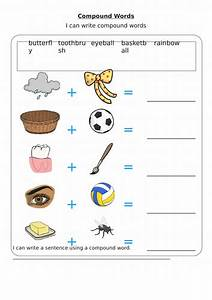 Compound Word Iwb Resource And Worksheet For Ks1 Year One