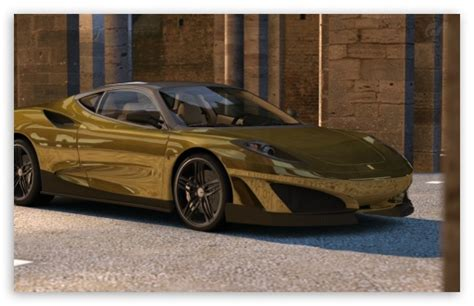 golden ferrari wallpaper ferrari sp1 gold 4k hd desktop wallpaper for 4k ultra hd