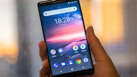 nokia 8 sirocco android 9 pie desteğine kavuştu
