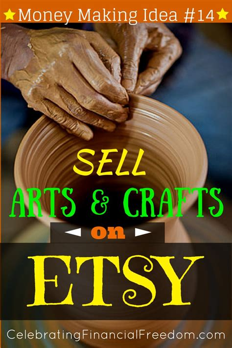 money making idea  sell arts  crafts  etsy