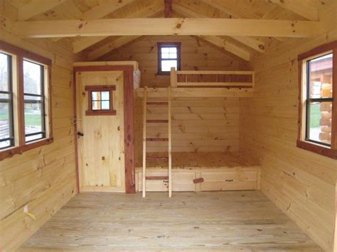 hunting cabin bunk bed plans  woodworking