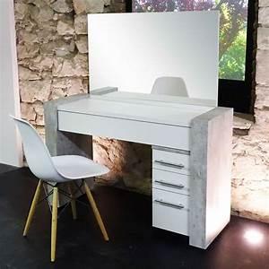 Schminktisch In Weiß : schminktisch frisierkommode kosmetiktisch weiss beton ebay ~ Markanthonyermac.com Haus und Dekorationen