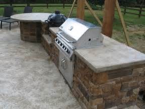 outdoor grill countertops color surface nwa customer projects arkansas polished