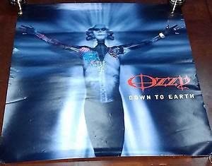 OZZY Osbourne (tattoo) Original Poster 34x24 - $38.95 ...