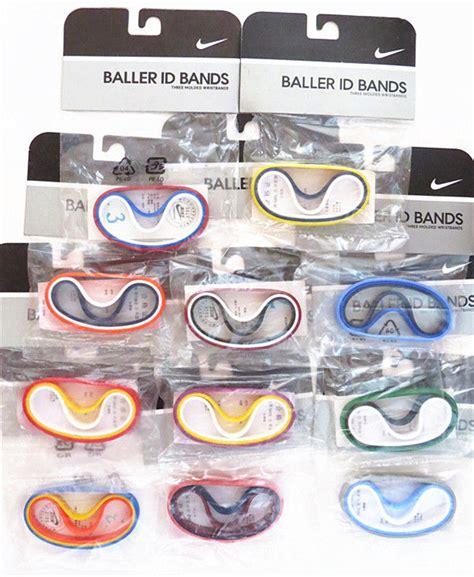 nike baller id wrist bands bracelet ebay