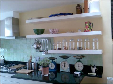 marvellous kitchen shelf decor inspirations ? Modern Shelf