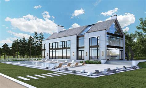 open space floor plans modern farm house grade york