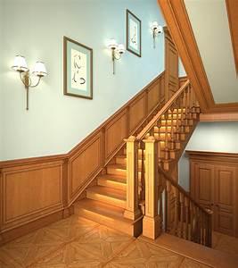 Escalier En U : escalier classique escalier prestige ~ Farleysfitness.com Idées de Décoration