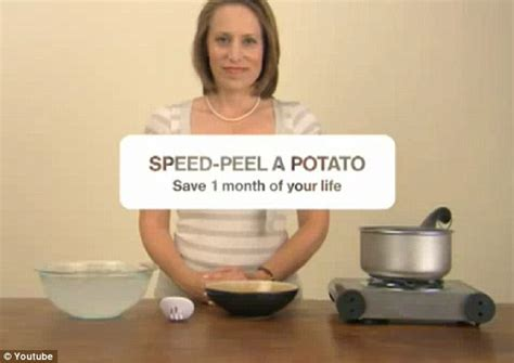 Plunge A Sink by Save One Month Of Your Life How To Peel A Potato Using