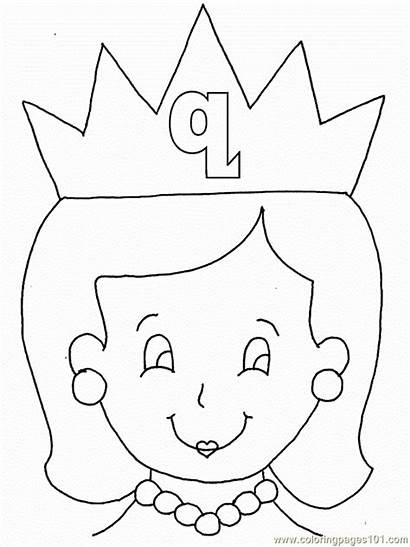 Queen Coloring Pages Coloringpages101