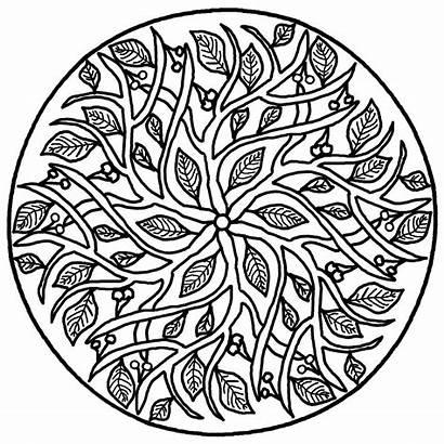 Mandala Coloring Pages Spiritual Realistic Splendid