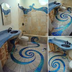 mosaic tiled bathrooms ideas unique and amazing mosaic bathroom design home design garden architecture magazine