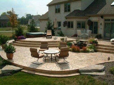 23+ Comely Raised Concrete Patio Ideas