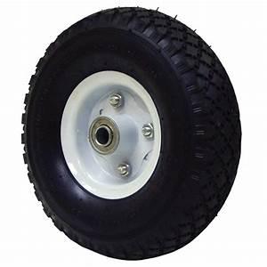 Roue Brouette 3 50 8 : roue de chariot pneumatique 10 po rona ~ Dailycaller-alerts.com Idées de Décoration