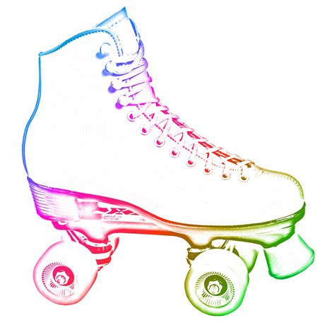 Roller Skate Clipart Clipart Suggest