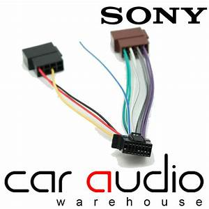 Sony 16 Pin Iso Head Unit Replacement Car Stereo Wiring
