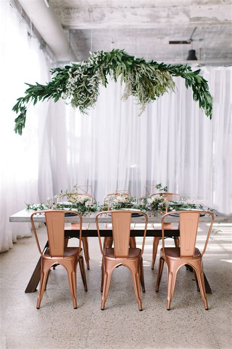 2019 Wedding Trends: Chic Rose Gold Wedding Ideas