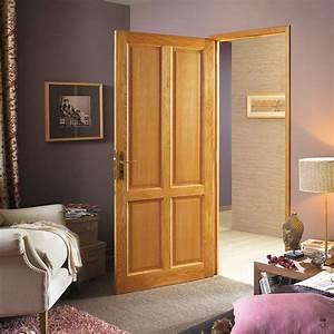 Porte Interieur Design : porte d 39 int rieur bois blois pasquet menuiseries ~ Melissatoandfro.com Idées de Décoration