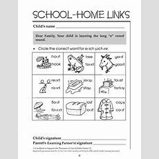 10 Best Images Of Long O Printable Worksheets  Printable Long O Worksheets, Long O Phonics