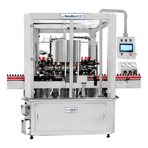 automatic rotary bottle washing machine anchor mark pvt
