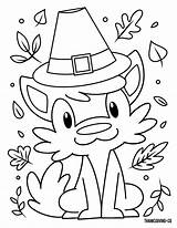 Coloring Thanksgiving Furry Friend Printable Friendsgiving Lol Adult sketch template