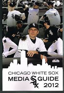 2012 Chicago White Sox Mlb Baseball Media Guide