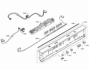 Bosch Model Shx3ar55uc  07 Dishwasher Genuine Parts