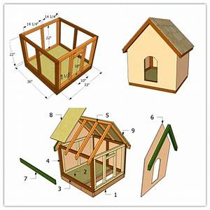 how to make a simple doghouse step by step diy tutorial With easy diy dog house