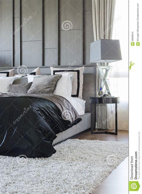 couleur de chambre moderne chambre a coucher moderne noir et blanc