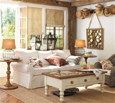 pottery barn summer catalog  wicker house